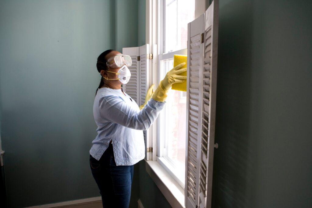花粉 掃除